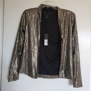 $99 Kardashian Kollection Jacket blazer sequin new